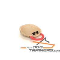 'Easy Grip' Jute Bite Dog Tug with Strong Handle  8 * 8* 3 inch (20* 20* 7 cm)