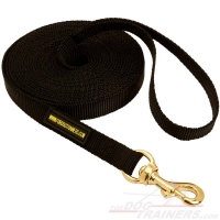 Nylon Tracking Dog Lead for Any Weather