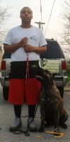 Jamal Keeps Everything At Hand with Nylon Dog Training Pouch