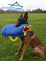*Cobra Trains  with French Linen Soft Puppy Sleeve for Belgian Malinois  30% DISCOUNT