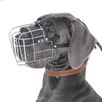 Great Dane Wire Basket Dog Muzzles Size Chart - Great Dane muzzle -  - M4light