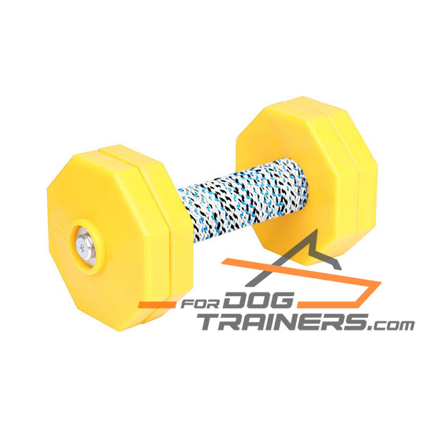 Wooden Dog Dumbbell for Effective Training