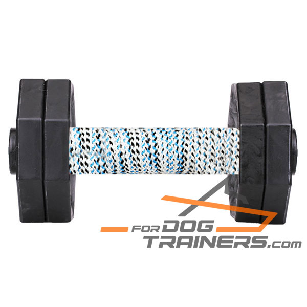 Dog Training Dumbbell with Wooden Bar