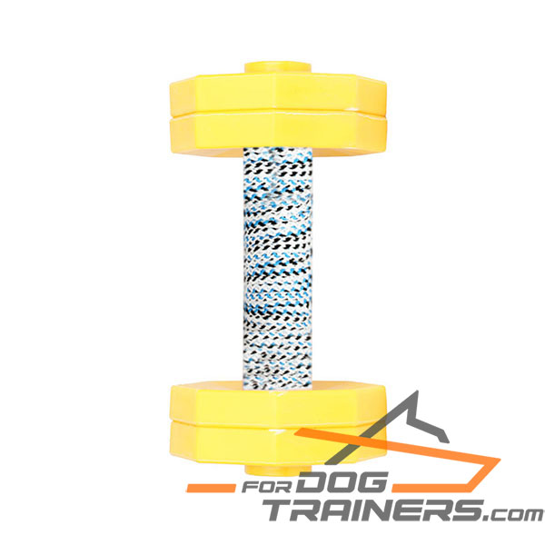 Wooden Dog Dumbbell for Professional Training